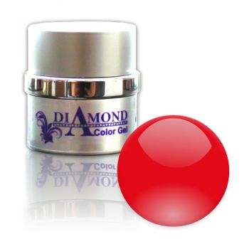 Diamond Color Gel Exclusive Red Effect 6g