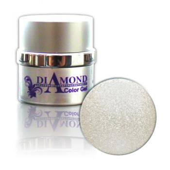 Diamond Color Gel Platinum (Silber Metallic) 6g