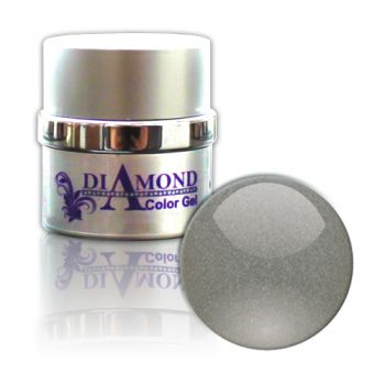 Diamond Color Gel Silver Shadow Metallic 6g