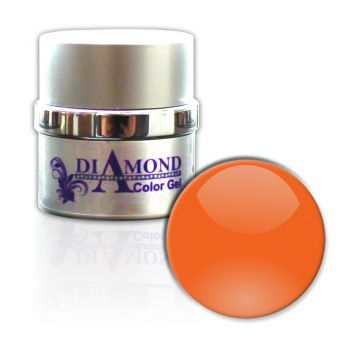 Diamond Color Gel Luminous Orange 6g