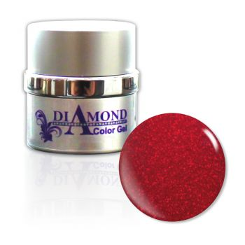Diamond Color Gel Glimmer Red 6g