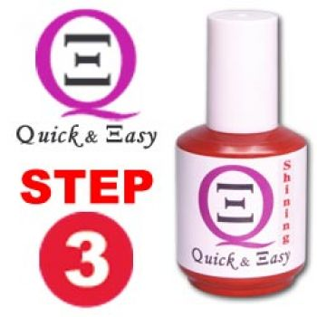 Quick & Easy Shining Gel 15g - STEP 3