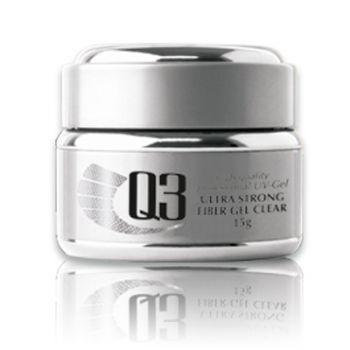 Q3 - ULTRA STRONG Fiber Gel clear 15g