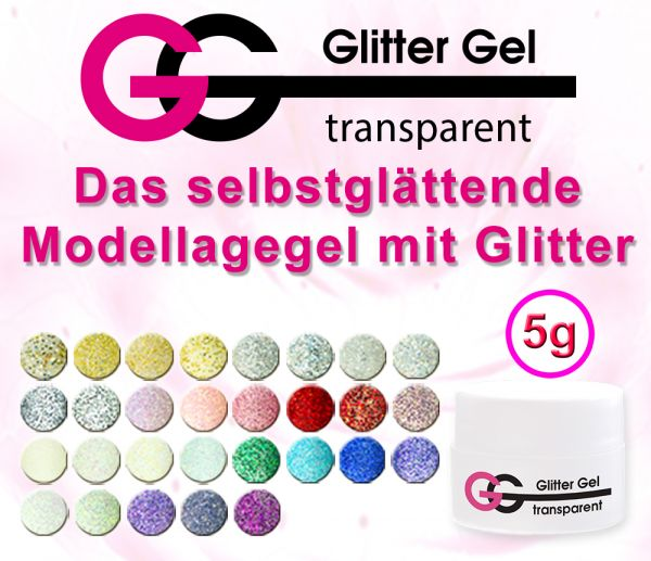GG Glitter Gel transparent 5g